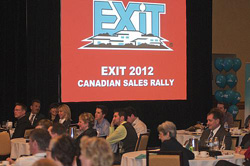 Empowered Savviness at EXIT Realty's Canadian Conference and Sales Rally