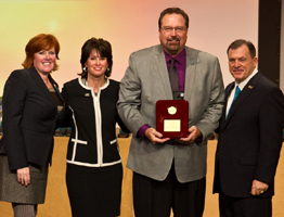 EXIT Realty's Attitude in Action Award goes to Bill Pankonin