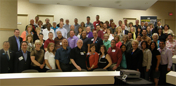 A few of the attendees at EXIT Realty's Broker/Owner Training