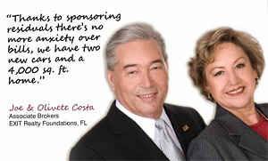 "Joe Costa Says ""Have a Payday Every Day"" with EXIT Realty!"