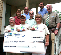 EXIT Realty Raises $12,000 for Habitat for Humanity in the Maritimes
