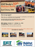 EXIT and Habitat for Humanity - Las Cruces, NM