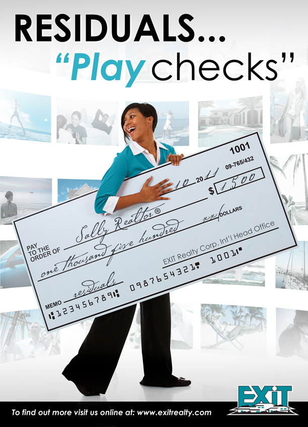 Want Extra Cash? You need residual PLAYchecks!