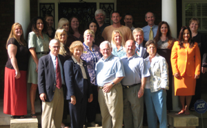 Agents from Bob Lamb Realty & Associates in front of their new office in Murfreesboro, TN